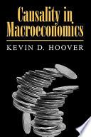 Causality in Macroeconomics