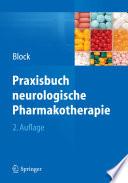 Praxisbuch neurologische Pharmakotherapie
