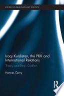 Iraqi Kurdistan  the PKK and International Relations