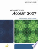 New Perspectives on Microsoft Office Access 2007  Brief