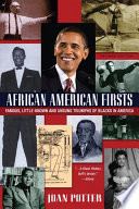 African American Firsts  4th Edition
