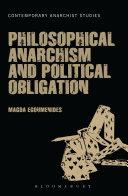 download ebook philosophical anarchism and political obligation pdf epub