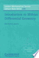 Introduction to M  bius Differential Geometry