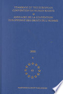 Yearbook of the European Convention of Human Rights Annuaire De LA Convention Europeene Des Droits De L Homme  2000