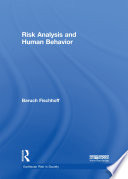 Risk Analysis And Human Behavior