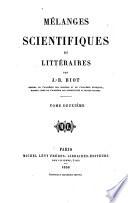 Critique littéraire et scientifique. Esquisses biographiques