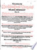Ein gantz new Reysebuch von Prag auss biss gen Constantinopel  das ist  Beschreibung der Legation und Reise  welche von der R  m  K  ys  auch     K  nigl  May  Matthia II  an den T  rckischen K  yser Ahmet  den Ersten diss Namens     abgeordnet so anno 1616 angefangen vnd anno 1618 gl  cklich verricht     worden