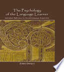 The Psychology of the Language Learner