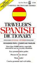 Traveler s Spanish Dictionary