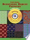 Full Color Decorative Repeat Patterns