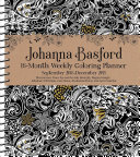 Johanna Basford Coloring 2018-2019 Planner