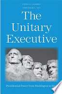 Ebook The Unitary Executive Epub Steven G. Calabresi,Christopher S. Yoo Apps Read Mobile