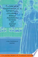 Florence Nightingale   s Spiritual Journey  Biblical Annotations  Sermons and Journal Notes
