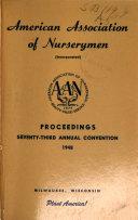Proceedings  Annual Convention American Association of Nurserymen