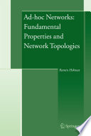 Ad hoc Networks  Fundamental Properties and Network Topologies