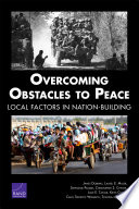 Overcoming Obstacles to Peace