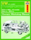 Vw Transporter Owner S Workshop Manual