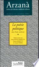 illustration La poésie politique dans l'Italie médiévale