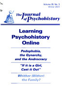 The Journal of Psychohistory