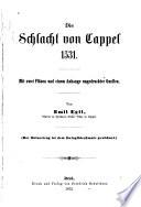Die Schlacht von Cappel, 1531
