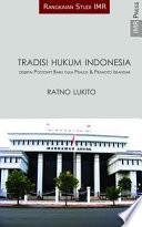 Tradisi Hukum Indonesia