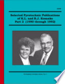 Selected Pyrotechnic Publications Of K L And B J Kosanke Part 2 book