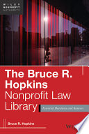 The Bruce R  Hopkins Nonprofit Law Library