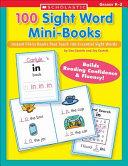100 Sight Word Mini-Books