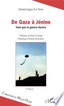 De Gaza    J  nine  3     dition