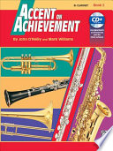 Accent on Achievement, Bk 2: B-Flat Clarinet, Book & CD