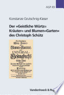 """Der """"Geistliche Würtz"""
