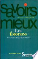 illustration du livre Les Émotions