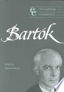The Cambridge Companion to Bartók And His Music