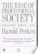 The Rise of Professional Society