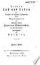 Lieben, Lust und Leben der Deutschen des 16. Jahrhunderts