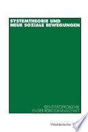 Systemtheorie und neue soziale Bewegungen