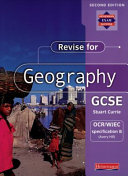 Revise for Geography GCSE OCR/WJEC Specification B (Avery Hill)