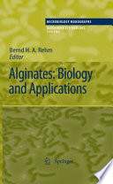 Alginates  Biology and Applications
