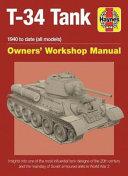 Soviet T 34 Tank Manual
