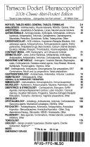 Tarascon Pocket Pharmacopoeia  2006 Classic Shirt Pocket Edition