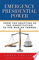 Emergency Presidential Power