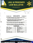 Jail   Prisoner Law Bulletin