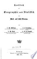 Handbuch der Geographie und Statistik von West- und Süd-Europa. (Das pyrenäische Halbinselland.)