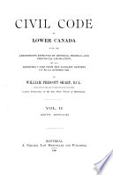 Civil Code of Lower Canada