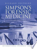Simpson's Forensic Medicine : ...