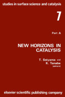 New Horizons In Catalysis book