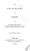 The Philosophy Of Sleep