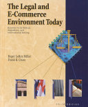 The legal and e-commerce environment today