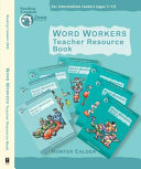 Book Word Workers Teacher Resource Book
