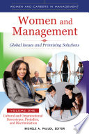Women and Management  Global Issues and Promising Solutions  2 volumes